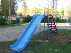 Children's hills for playgrounds