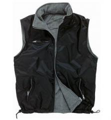 Vest on fleece quilted