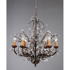 Wrought iron decorative products-chandeliers