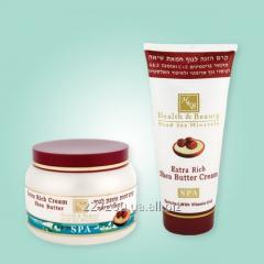 Питательный крем для тела с добавлением масла шиа