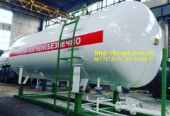 Емкость для газа (СУГ) 9,9 м.куб