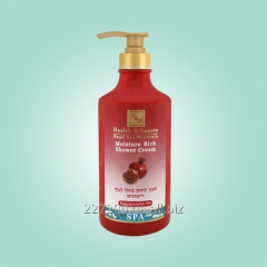 The moisturizing shower cream gel with Health and
