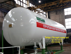 Capacity for propane-butane, LPG