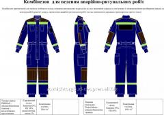 Rescuer's overalls
