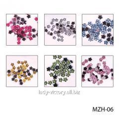 """Color pastes """"florets"""". MZH-06"""