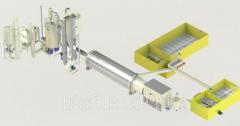 Vonal granulirovaniâ 1800-2200 kg/h 65 %-áig