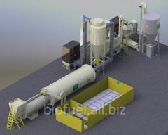 Линия гранулирования 2000-3000  кг/ч до 15%