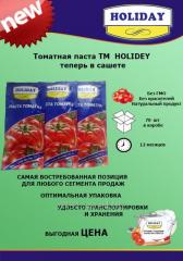 Tomato paste in a sachet (stik)