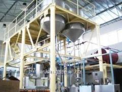 The dryer raspylitelny on production of dry