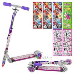 Article scooter: JR3-009, alyum-steel, wheels of 3