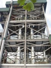The dryer raspylitelny on production of tomato