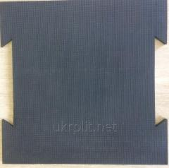 Rubber tile larkspur