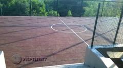 Покрытие резиновое УкрПлит  для спортивных площадок