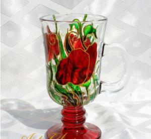 Чашка для капучино Маковое настроение