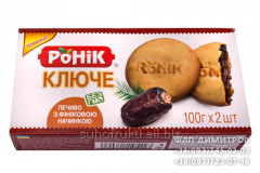 Cakes-biscuits with date filling Ronik TM