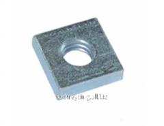Nut square low DIN 562