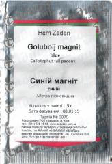 Семена Астры пионовидной Синий Магнит 5 г