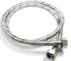 Шланг для подвода воды армированный  гайка-гайка (различной длинны)