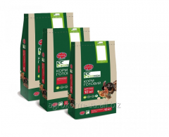 Compound feed for turkey-cocks