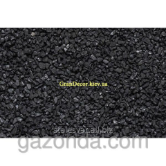 Decorative crushed stone Marble crumb of black 5-8