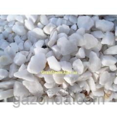 Marble crumb white Tassos of 10-15 mm
