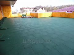 Safety coverings for terraces, balconies and a