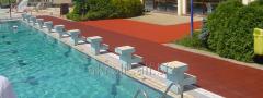 Травмобезопасные покрытия для зон вокруг бассейнов
