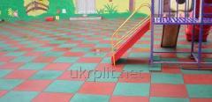 Резиновая плитка ТМ УкрПлит 500x500