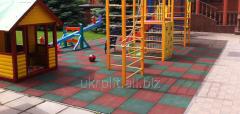 Покрытие Pезиновое для детских площадок