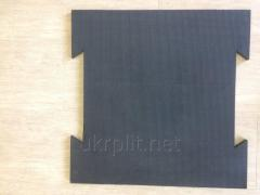 Depreciation rubber tile