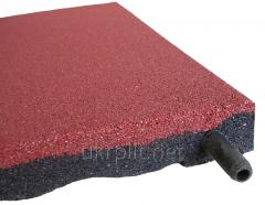 Модульное резиновое покрытие 20 мм для спортзала