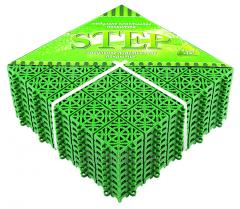 СТЕП напольное модульное покрытие 330ммх330мм