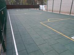 Напольное спортивное покрытие для баскетбола