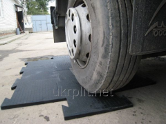 Резиновая плитка для гаража 30 мм