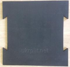 Вулканизированная плитка для промышленных...