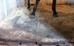 Rubber floor covering, rubber mats for stalls