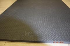 Rubber rugs for cowsheds