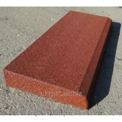 Safety rubber border