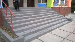 Резиновая плитка для ступеней, пандусов и лестниц