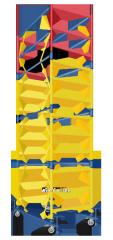 Вышка-тура мобильная облегченная 1,7 Х 0,8 м (1+1)