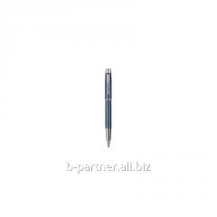 Ручка перьевая IM Premium Metallic Blue FP F