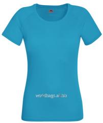 Женская спортивная футболка 392-ЗУ