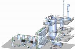 Turnkey plant on production of Anka Makine
