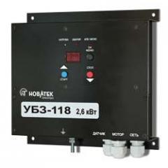 Блок защиты однофазных электродвигателей УБЗ-118