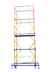 Mobile collapsible tower 1.7m x 0.8m
