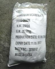 Ammonium E 503 bicarbonate (salt ugleammoniyny)