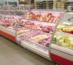 Холодильная витрина для магазинов самообслуживания Парус