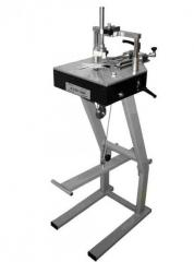 The machine with the foot pedal drive for