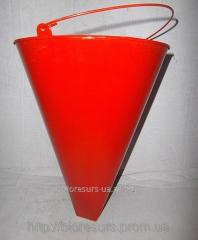 The bucket is fire