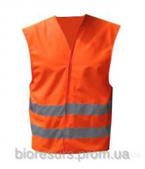 Vest of signalniya orange